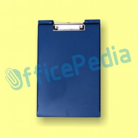 Papan Scanner (Clip Board) Bantex with ruller Blue 8815-01