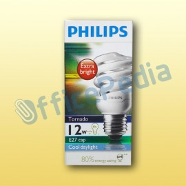 Lampu Philips Tornado 12W Cool Day Light E27 220-240