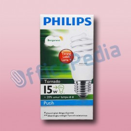 Lampu Philips Tornado 15W Cool Day Light E27 220-240