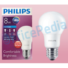 Lampu Philips LED Bulb 8-70W E27 6500K