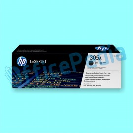 Toner HP 305A CE410A Black